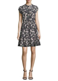 Rebecca Taylor Silk Eclipse Dress