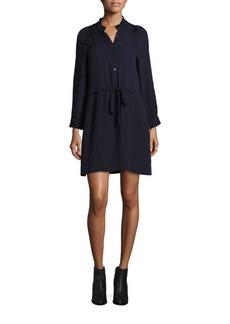 Rebecca Taylor Silk Georgette Shirtdress