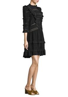 Rebecca Taylor Silk Lace Dress