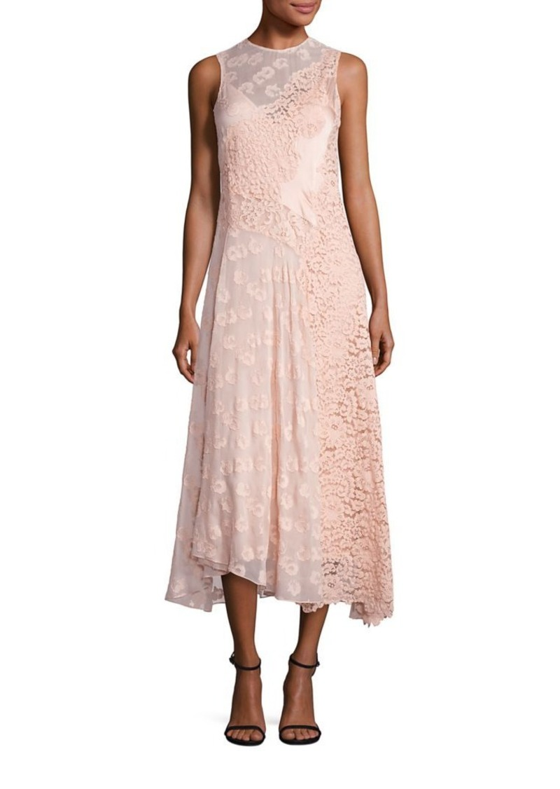 Rebecca Taylor Rebecca Taylor Sleeveless Chevron Lace Dress | Dresses