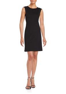 Rebecca Taylor Sleeveless Cotton & Silk Dress