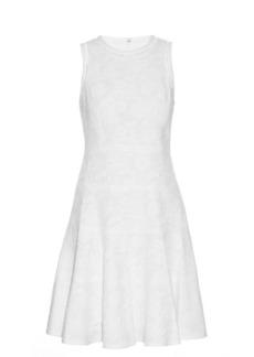 Rebecca Taylor Sleeveless cotton-blend jacquard dress