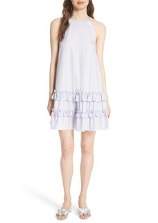 Rebecca Taylor Sleeveless Cotton Tank Dress