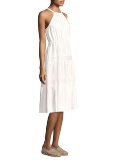 Rebecca Taylor Sleeveless Halterneck Dress