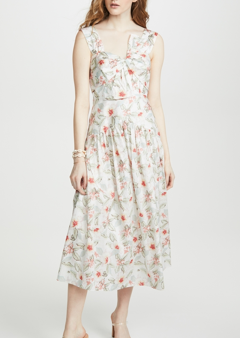 Rebecca Taylor Sleeveless Kamea Bow Dress