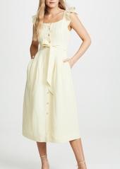 Rebecca Taylor Sleeveless Linen Dress