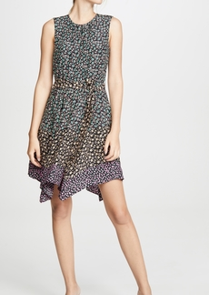 Rebecca Taylor Sleeveless Louisa Floral Dress