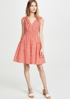 Rebecca Taylor Sleeveless Malia Tie Dress