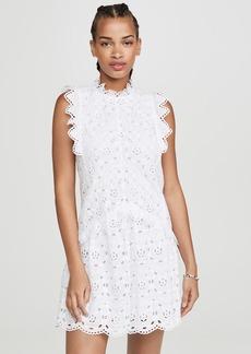 Rebecca Taylor Sleeveless Mina Eyelet Dress
