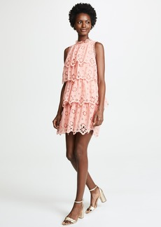 Rebecca Taylor Sleeveless Pinwheel Dress
