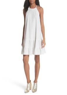 Rebecca Taylor Sleeveless Stripe Tank Dress