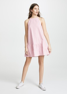 Rebecca Taylor Sleeveless Stripe Tank Dress
