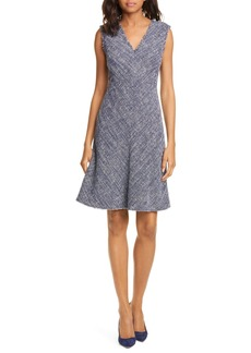 Rebecca Taylor Sleeveless Tweed Dress (Nordstrom Exclusive Color)