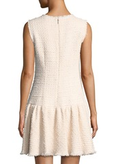 Rebecca Taylor Sleeveless Tweed Mini Dress