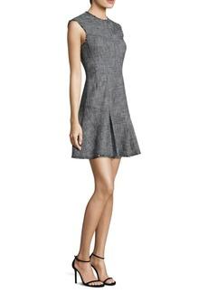 Slub Suit Dress