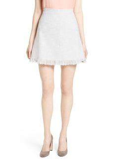 Rebecca Taylor Slub Suit Skirt