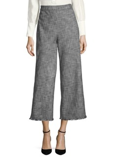 Rebecca Taylor Slub Suiting Pants