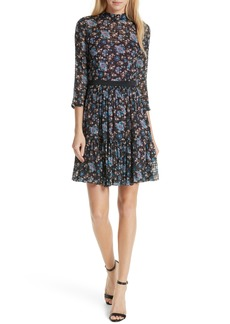 Rebecca Taylor Solstice Silk Blend Dress