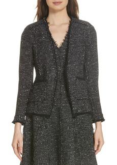 Rebecca Taylor Sparkle Stretch Jacket