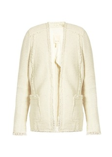 Rebecca Taylor Sparkle stretch-tweed blazer