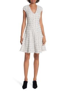 Rebecca Taylor Speckled Tweed Dress
