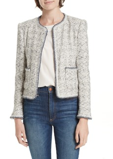 Rebecca Taylor Speckled Tweed Jacket