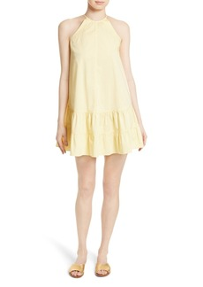 Rebecca Taylor Stretch Cotton Shift Dress