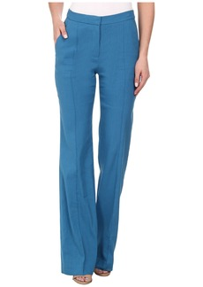 Rebecca Taylor Stretch Linen High Waist Pant