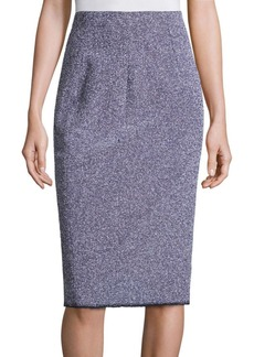 Rebecca Taylor Stretch Tweed Skirt