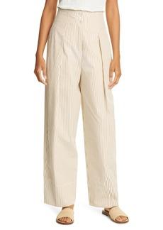 Rebecca Taylor Striped Cotton Pants
