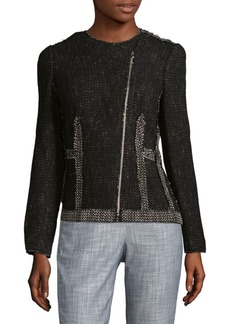 Rebecca Taylor Structured Tweed Blazer