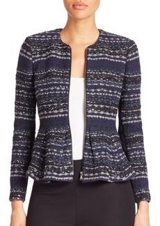Rebecca Taylor Studded Tweed Jacket