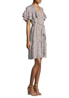 Rebecca Taylor Sweet Briar Floral Dress