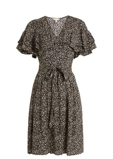 Rebecca Taylor Sweet Briar floral-print silk dress