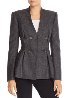 Rebecca Taylor Tailored Herringbone Jacket
