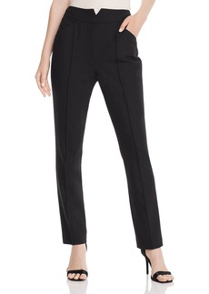 Rebecca Taylor Tailored Straight-Leg Pants