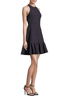 Rebecca Taylor Textured Ruffle Dress