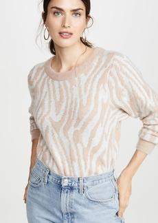 Rebecca Taylor Tiger Stripe Pullover