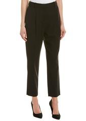 Rebecca Taylor Tuxedo Pleat Wool-Blend Pant
