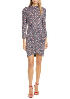 Rebecca Taylor Twilight Ditsy Floral Jersey Dress