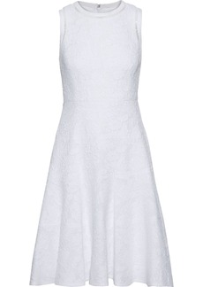 Rebecca Taylor Woman Cotton-blend Cloqué Dress White