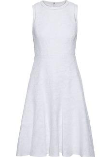 Rebecca Taylor Woman Cotton-blend Cloqué Dress White