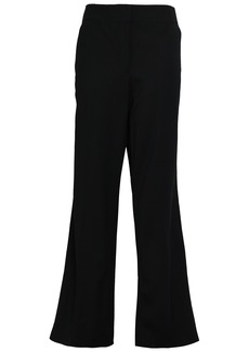 Rebecca Taylor Woman Stretch-wool Twill Wide-leg Pants Black