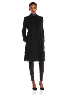 Rebecca Taylor Women's Boucle Tweed Coat