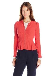 Rebecca Taylor Women's Boucle Tweed Jacket