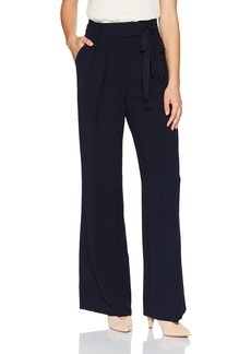 Rebecca Taylor Women's Crepe Pant navy
