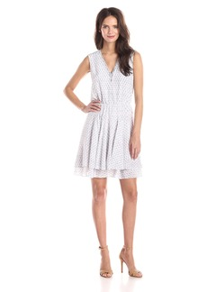 Rebecca Taylor Women's Ditsy Tulip Flared Dress