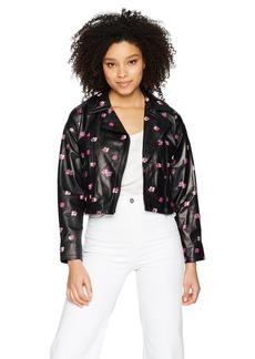 Rebecca Taylor Women's Floriana Leather Jacket
