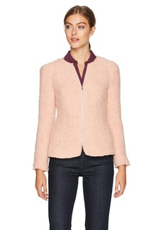 Rebecca Taylor Women's Fluffy Tweed Jacket
