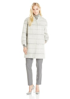 Rebecca Taylor Women's Icicle Cocoon Coat